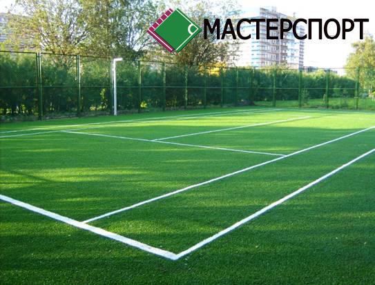 Спортивная искусственная трава с высотой ворса 20 мм